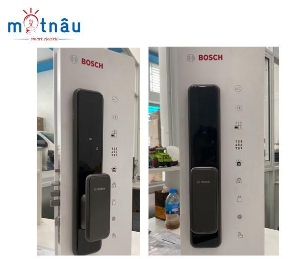 Hình ảnh khóa cửa vân tay điện tử thông minh bosch el600b