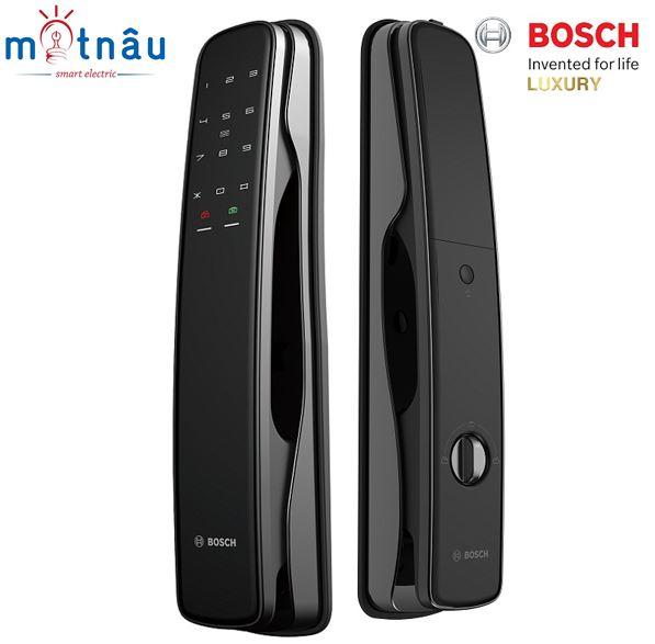 Khóa cửa điện tử Bosch EL800A : Vân tay - Mật khẩu - Thẻ từ - Chìa cơ