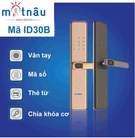 khóa cửa điện tử thông minh bosch id30b