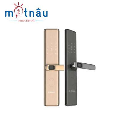 Khóa cửa điện tử Bosch ID308 : Vân tay - Mật Khẩu - Thẻ từ - Chìa cơ