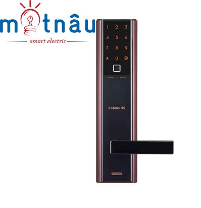 Khóa cửa điện tử Samsung SHP-DH538MC/EN (màu đen - đồng)