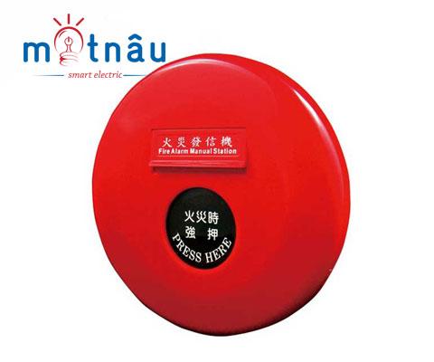 Nút ấn báo cháy tròn đỏ YFM-01