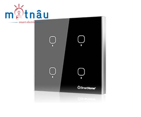 Hướng dẫn cài đặt công tắc cảm ứng SmartHome SH-CT4W-T3 (mặt chữ nhật) và SH-TC4W-T2 (mặt hình vuông)