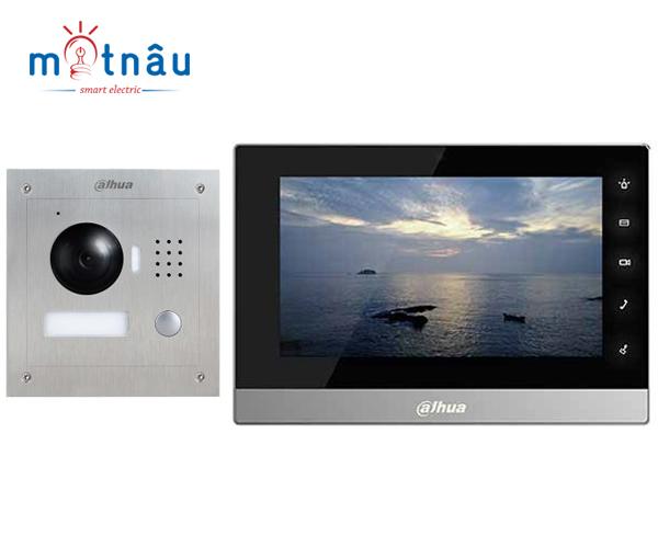Trọn bộ chuông hình IP Dahua VTH1510CH-VTO2000A