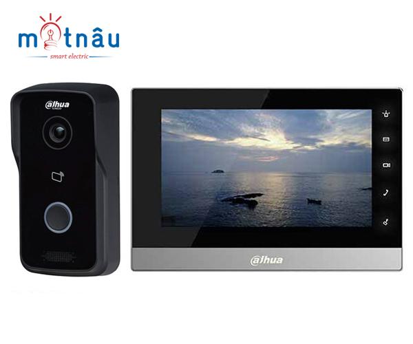 Trọn bộ chuông hình IP Dahua VTH1510CH-VTO2111D