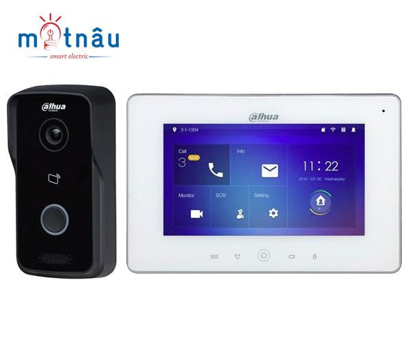 Trọn bộ chuông hình IP Dahua VTH5221D-VTO2111D (Wifi)